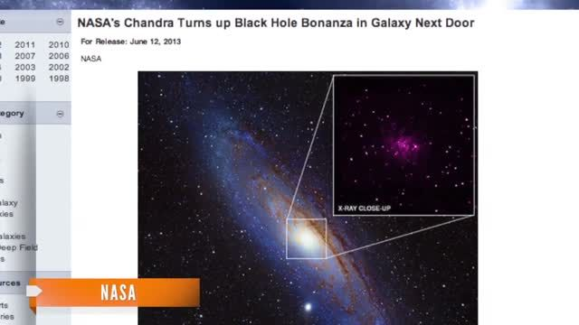 News video: NASA Finds 26 Black Holes in Andromeda Galaxy